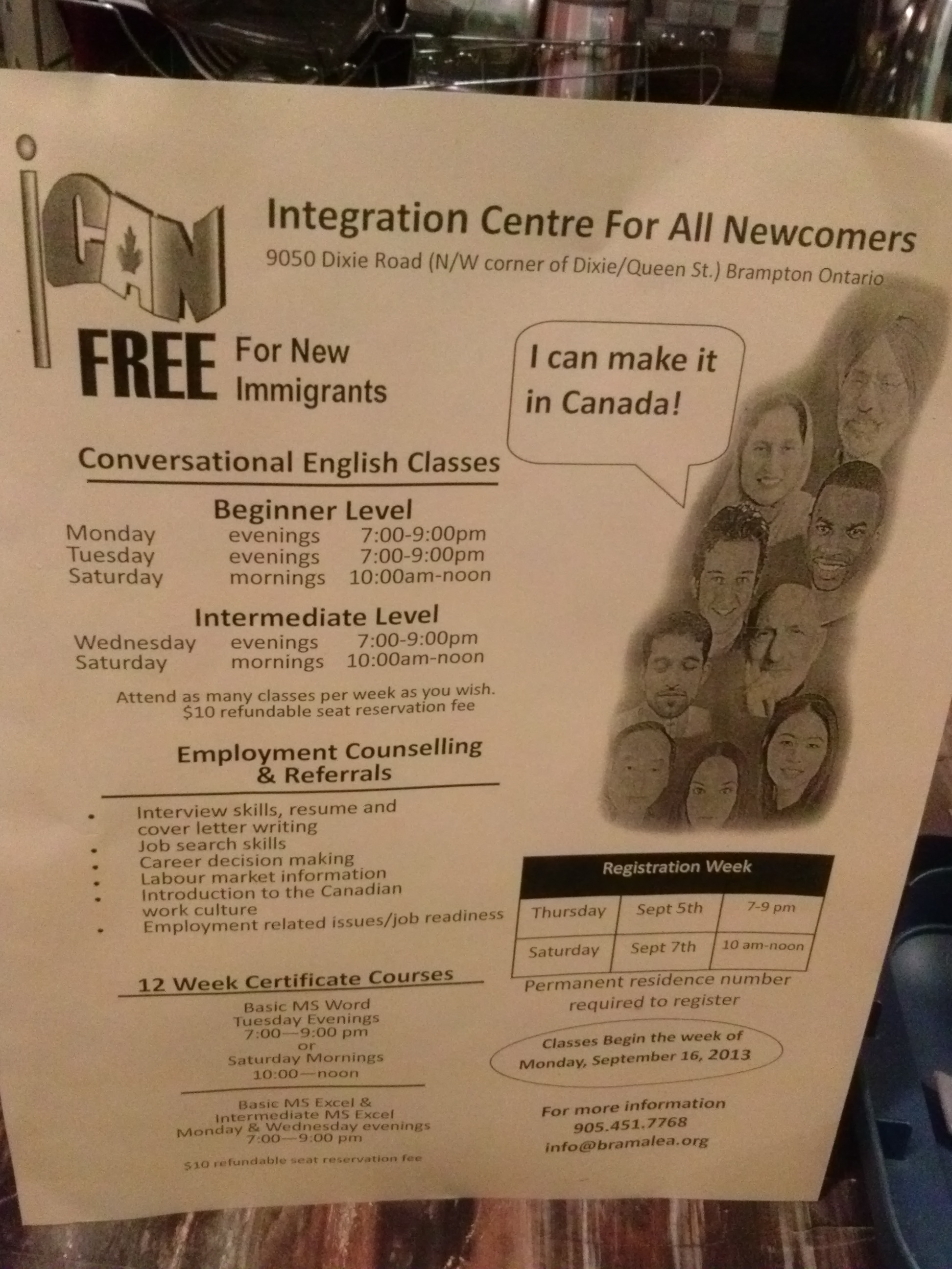 FREE ENGLISH & COMPUTER CLASSES FOR NEWCOMERS - Ican Pics 003