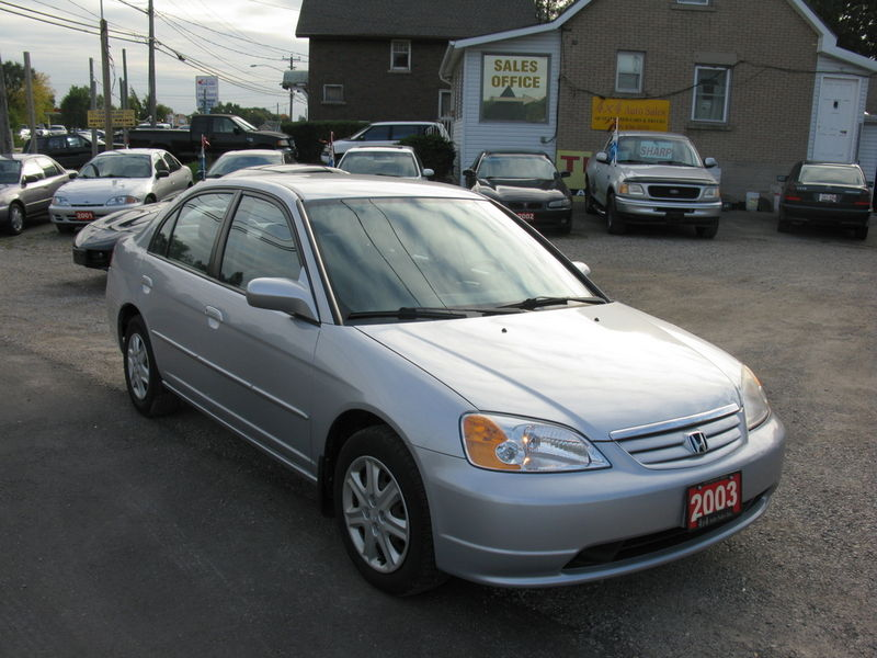 Honda Civic 4 DR Auto! Loaded & MINT! - Used Honda Guelph 4