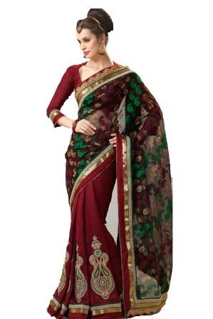 ETHNIC CLOTHING AND ELEGANT JEWELLERIES - Banarasi Saree