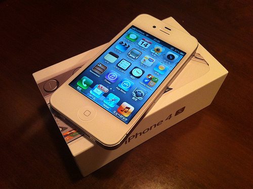 BUY 100% ORIGINAL APPLE IPHONE 4S 32GB SIM FREE - S 32gb