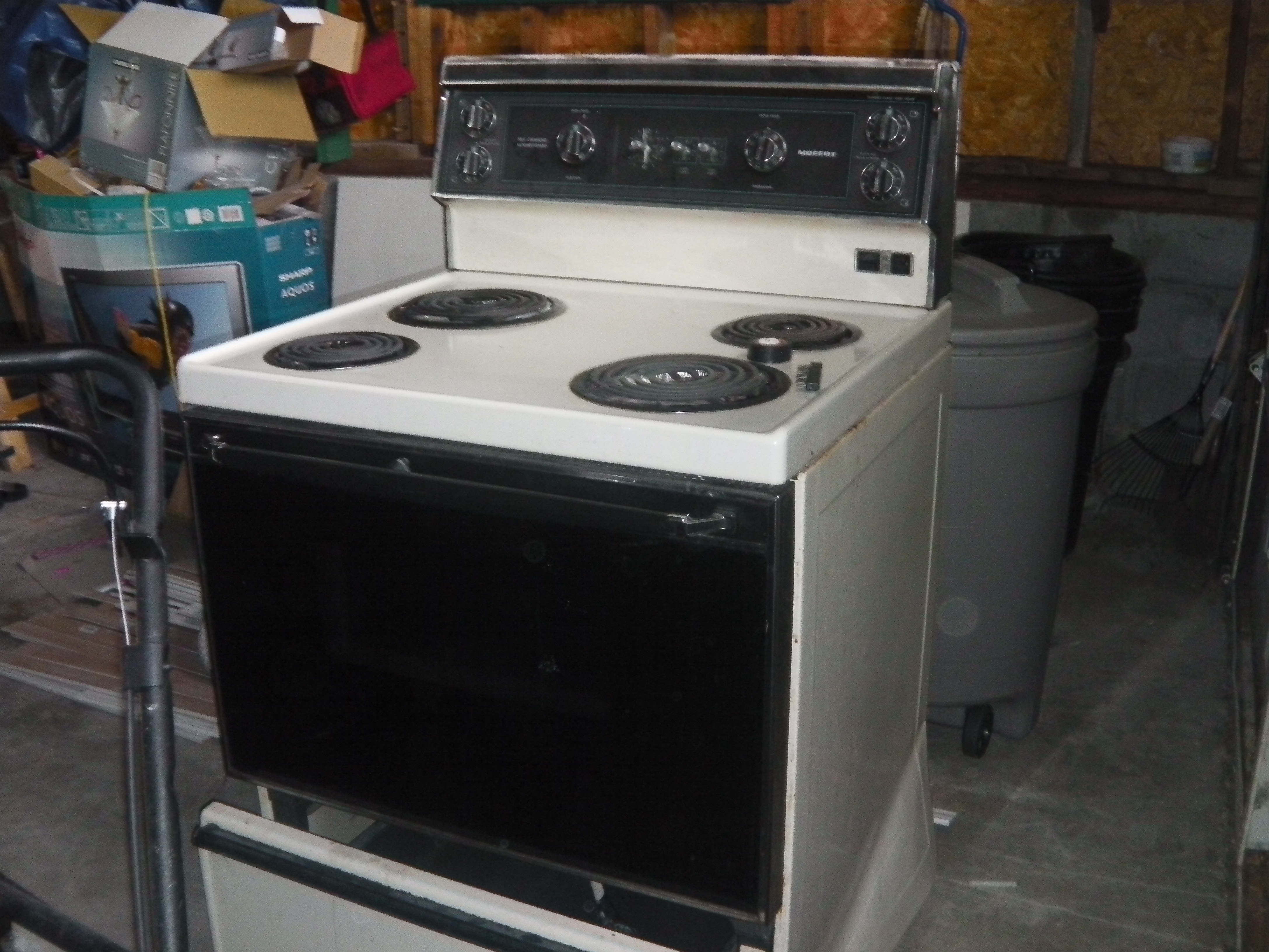 Electric Range -