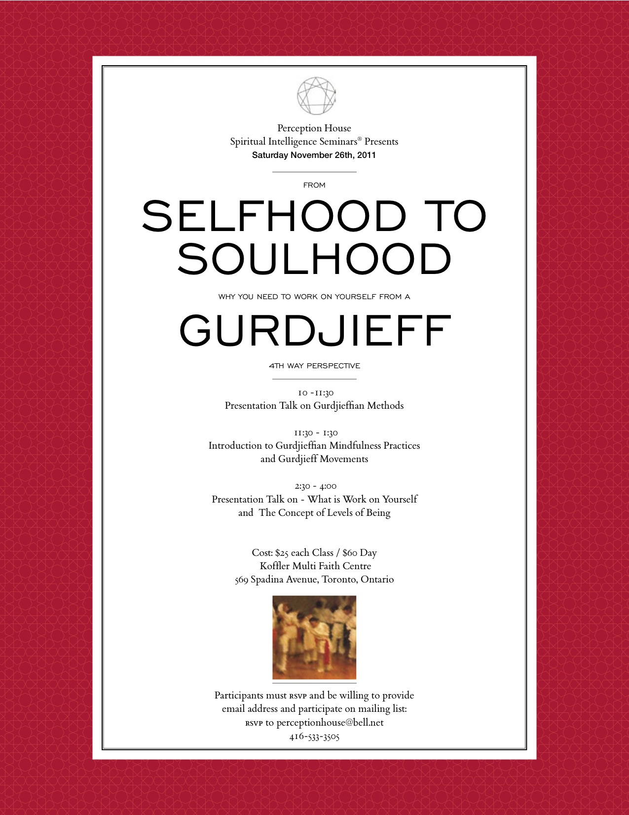 Part I: From Selfhood To Soulhood: Why We Need To Work On Our Self: Conscious Self Development From A Gurdjieff 4th Way Perspective - Ph Posters V1 Dragged