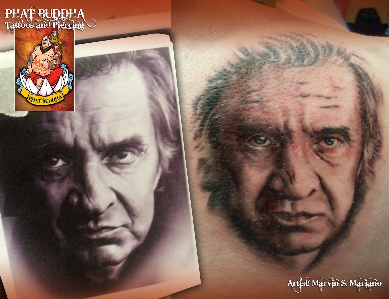 Quality Tattoo Portraits - Phat Buddha Jc