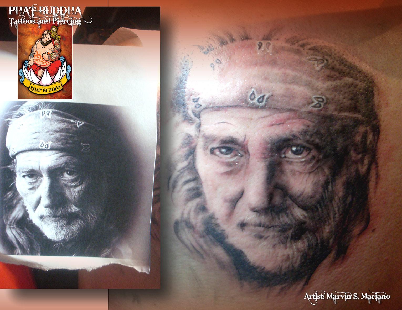 Quality Tattoo Portraits - Phat Buddha Wn