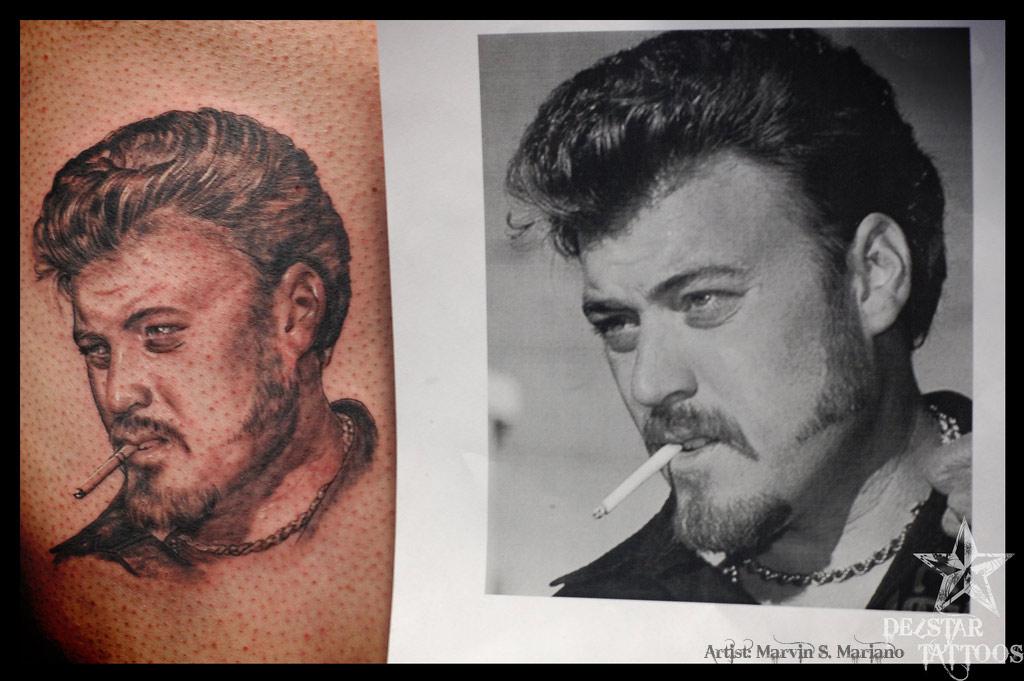 Quality Tattoo Portraits - Ricky