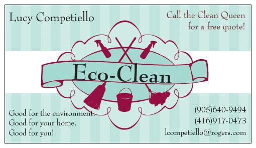 Eco Clean Call The Clean Queen For A Free Quote! - Card