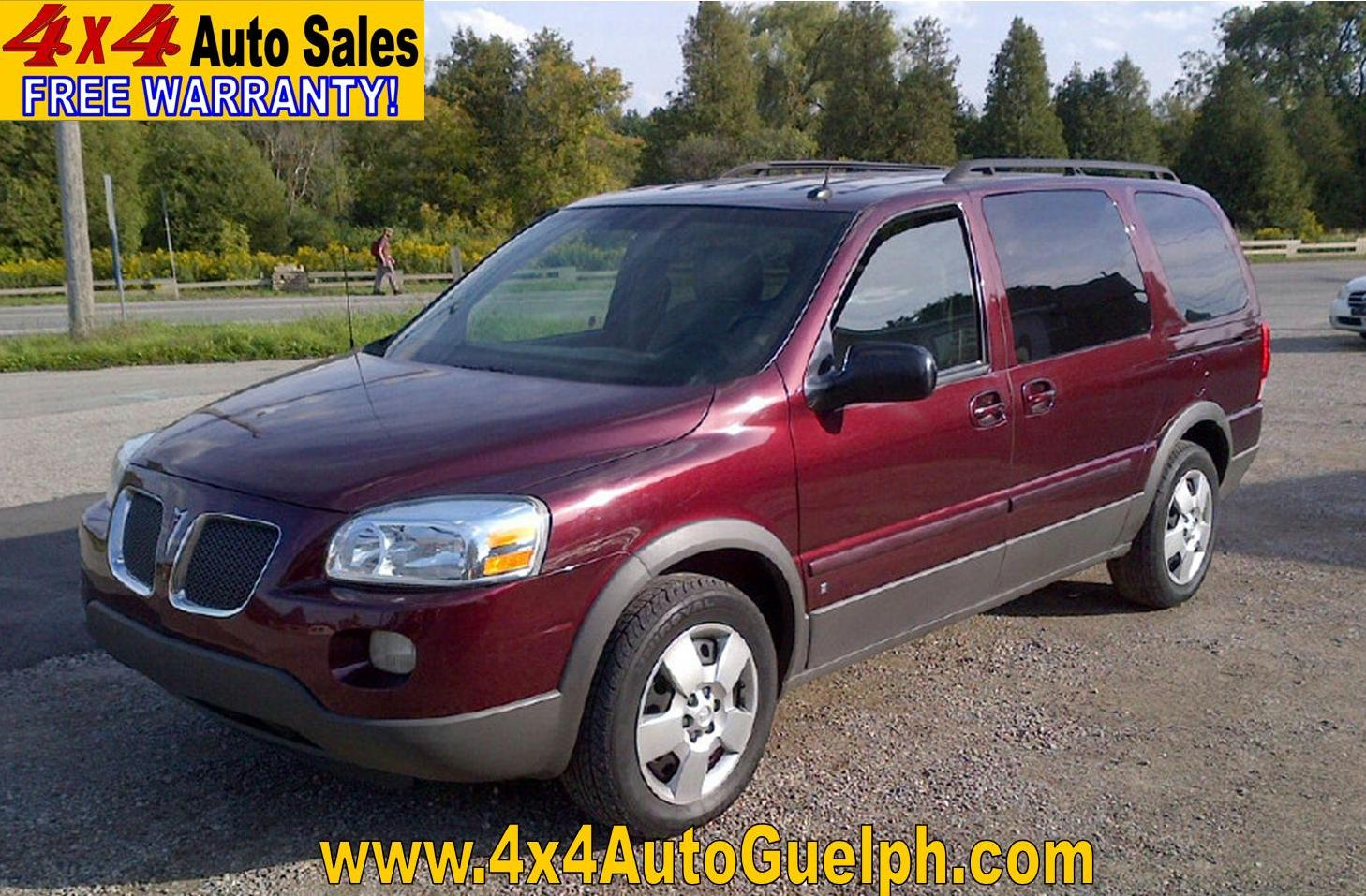 Pontiac Montana SV6 Extended Leather! Mint! Only $5,950 -