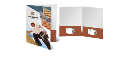 Presentation Folder Printing For Stylish Designs - Folders