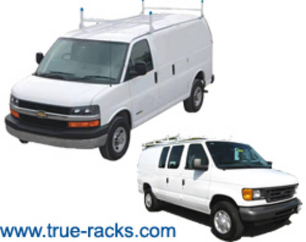 Van Shelving, Van/ Pickup Ladder Racks, Safety Partitions - Ladder Rack Sm