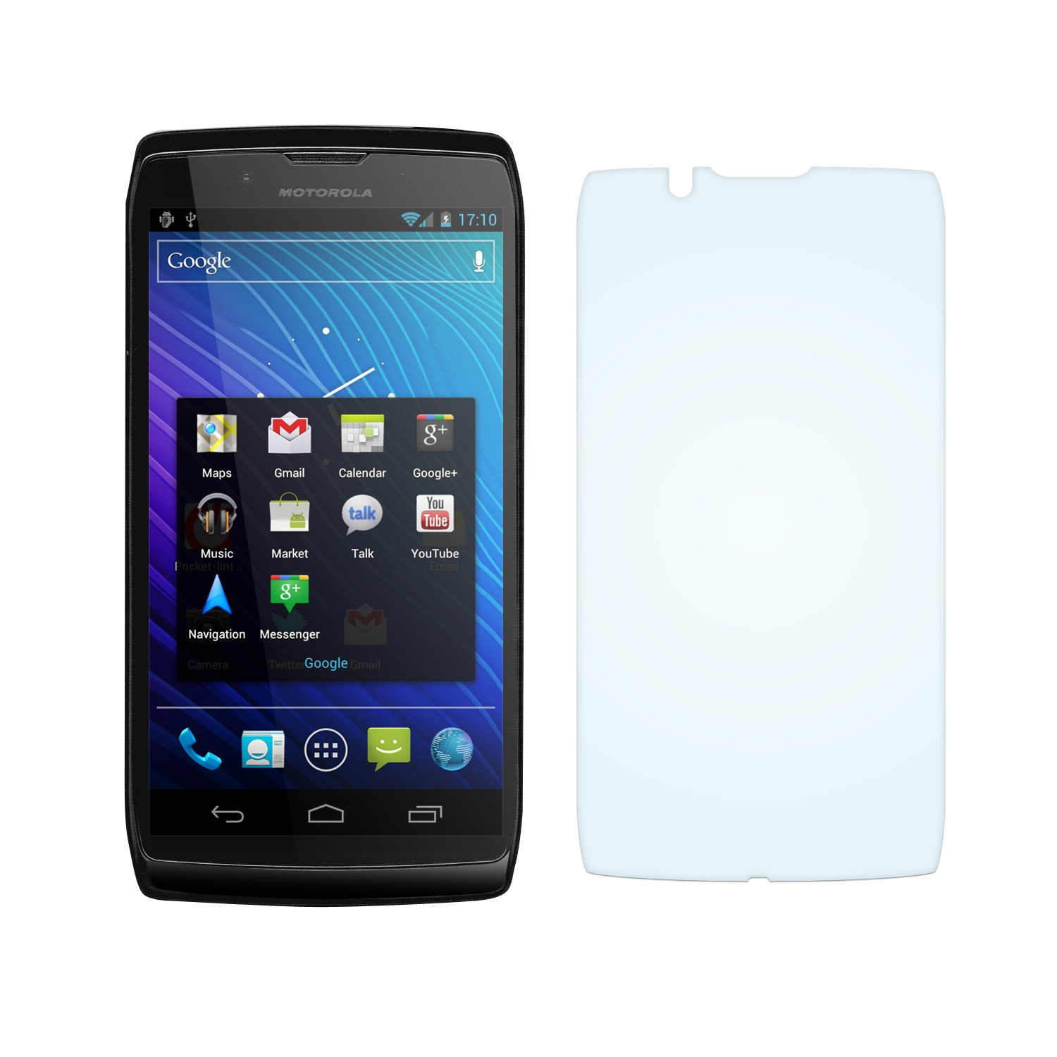 Case& Screen Protector ON SALE - Motorola Razr V Mt887