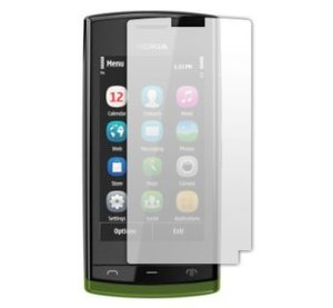 Case& Screen Protector ON SALE - Nokia 500 Fate Screen Protector