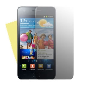 Case& Screen Protector ON SALE - Samsung I9100 Screen Protector