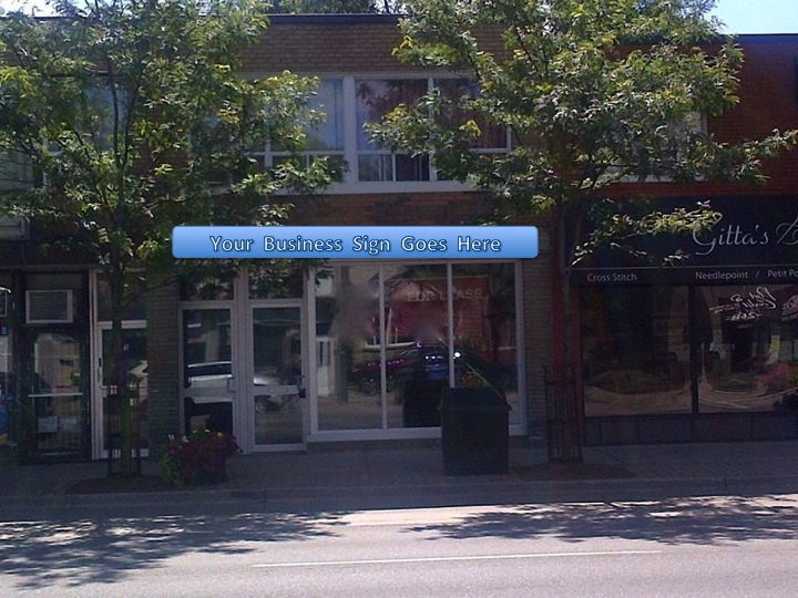 Retail Space For Lease – 273 Lakeshore Rd E Mississauga, L5G 1G8 - Slidefdfd1