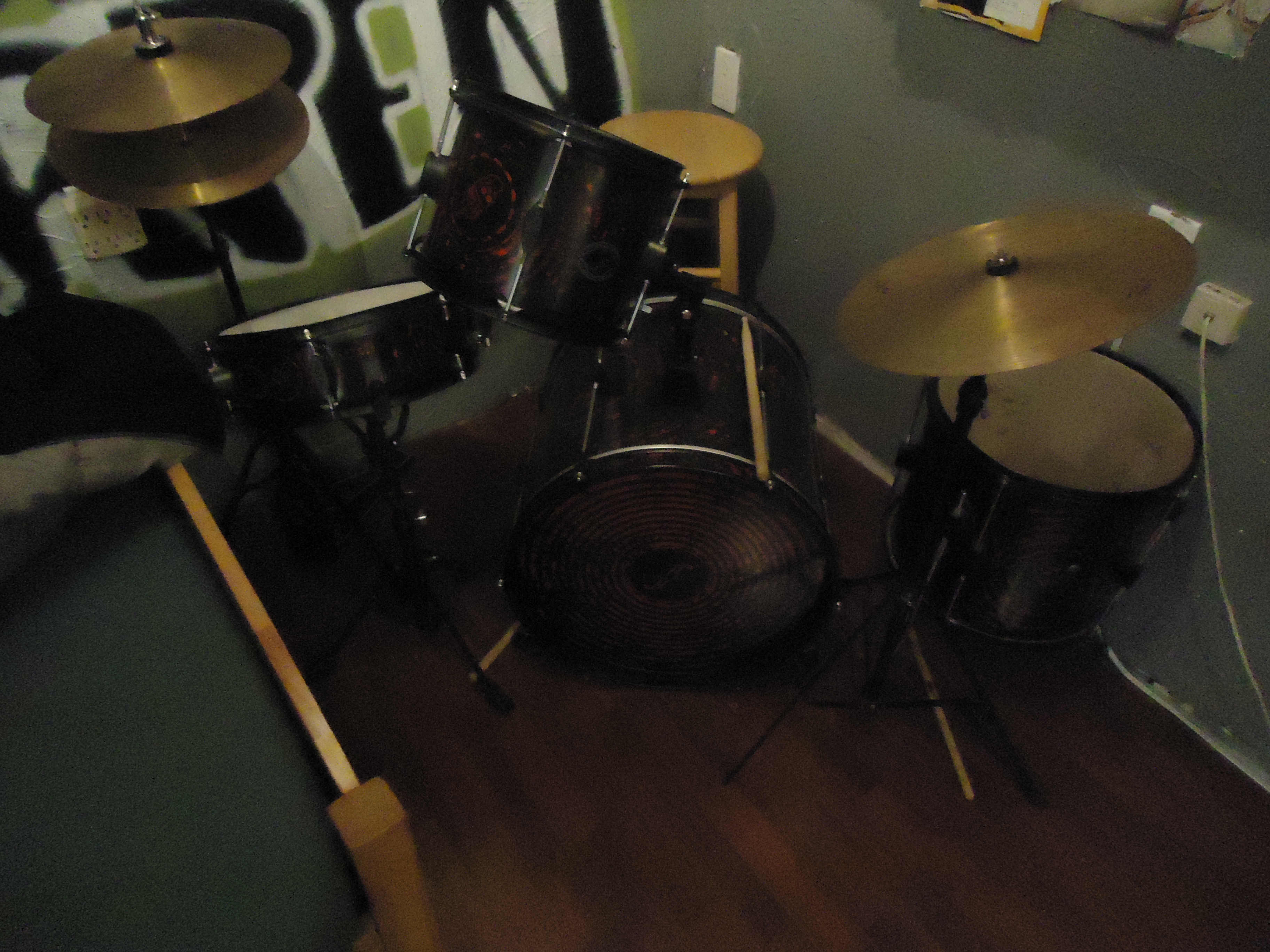 First Act Drum Set - Drums