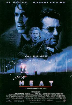Heat Al Pacino/Robert De Niro - Heatposter