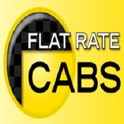 Flat Rate Cabs Sherwood Park 780 469 4222 - Flat Rate Cabs Logo