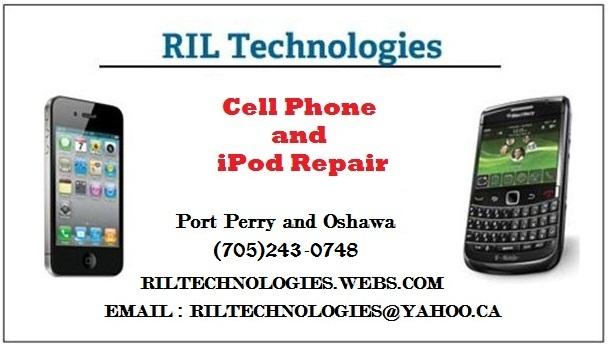 IPhone, IPod, IPad, Blackberry, Smartphone Repair, Oshawa, Port Perry - Logo