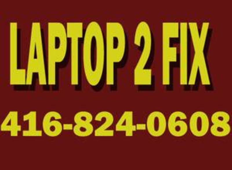Need Laptop Repair Call The Specialist 416 824 0608 - K6c 20