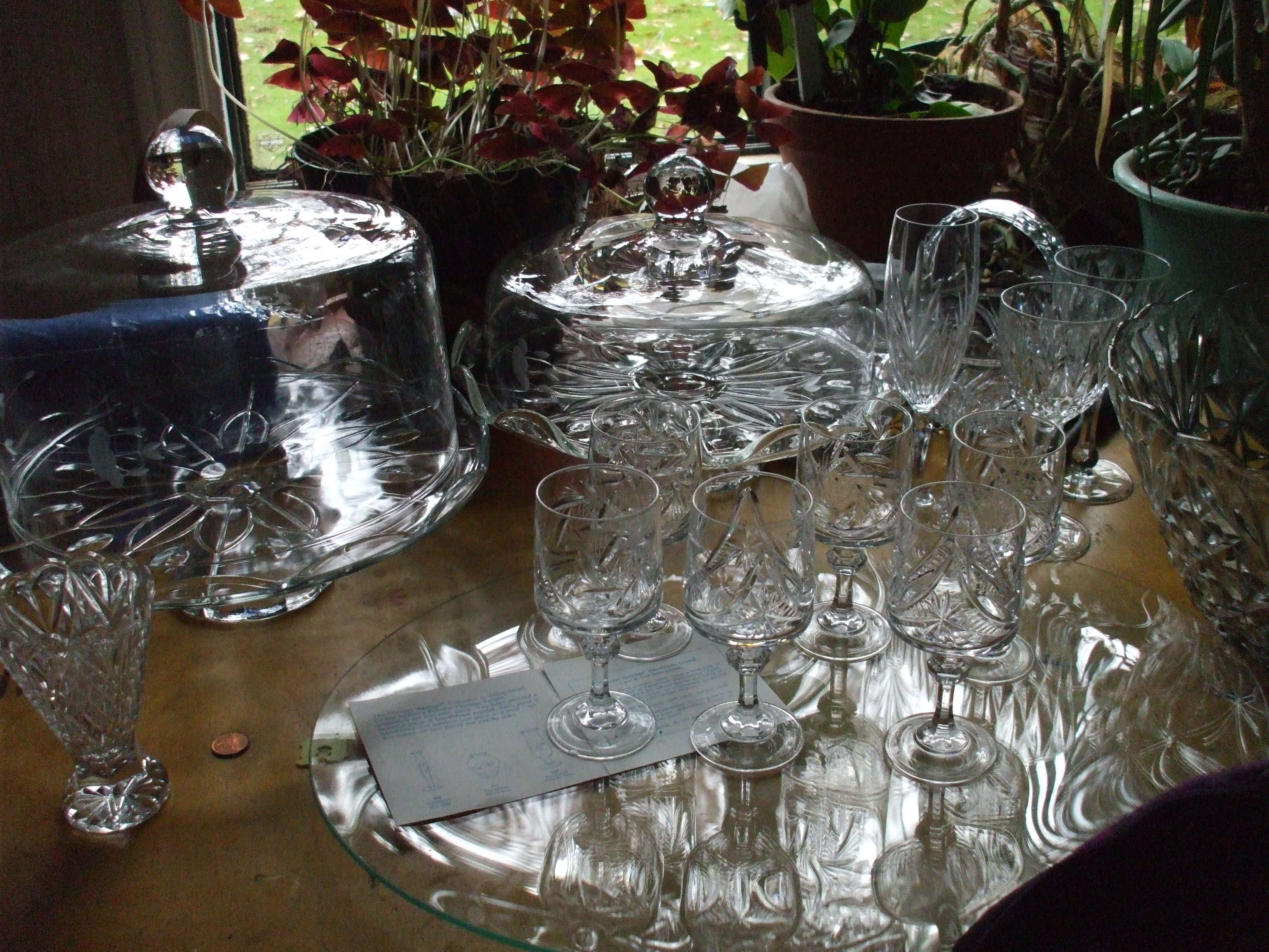 Crystal Pieces For Sale -