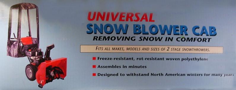 Snow Blower Cab - Snowblower Cab For Sale