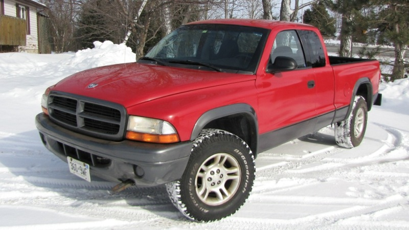 Dodge Dakota, Club Cab, 4x4 - Front