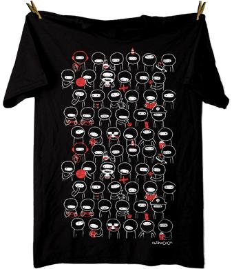 T Shirts At Captainkyso - Procastninjation