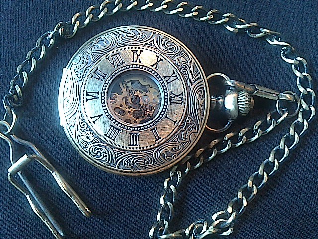 Steampunk Roman Numeral Watch - Dsc 0004