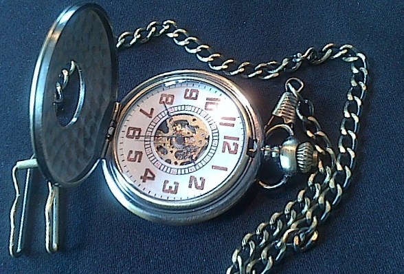 Steampunk Roman Numeral Watch - Dsc 0005
