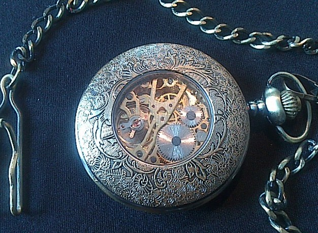 Steampunk Roman Numeral Watch - Dsc 0006