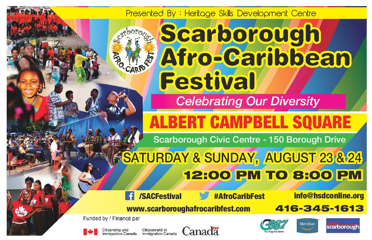Scarborough Afro Caribbean Festival - Scarboroughafrocaribfestflyer