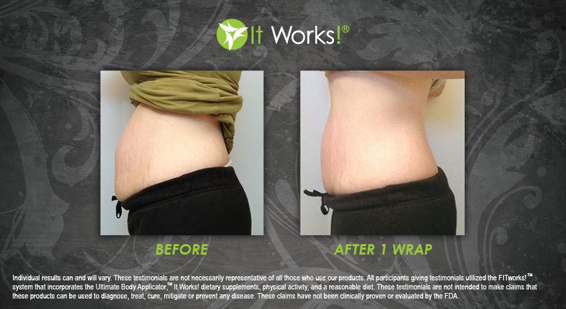Work From Home With It Works! - Tummyresults3