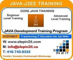 JAVA Training Toronto & J2EE Training Brampton - J2ee