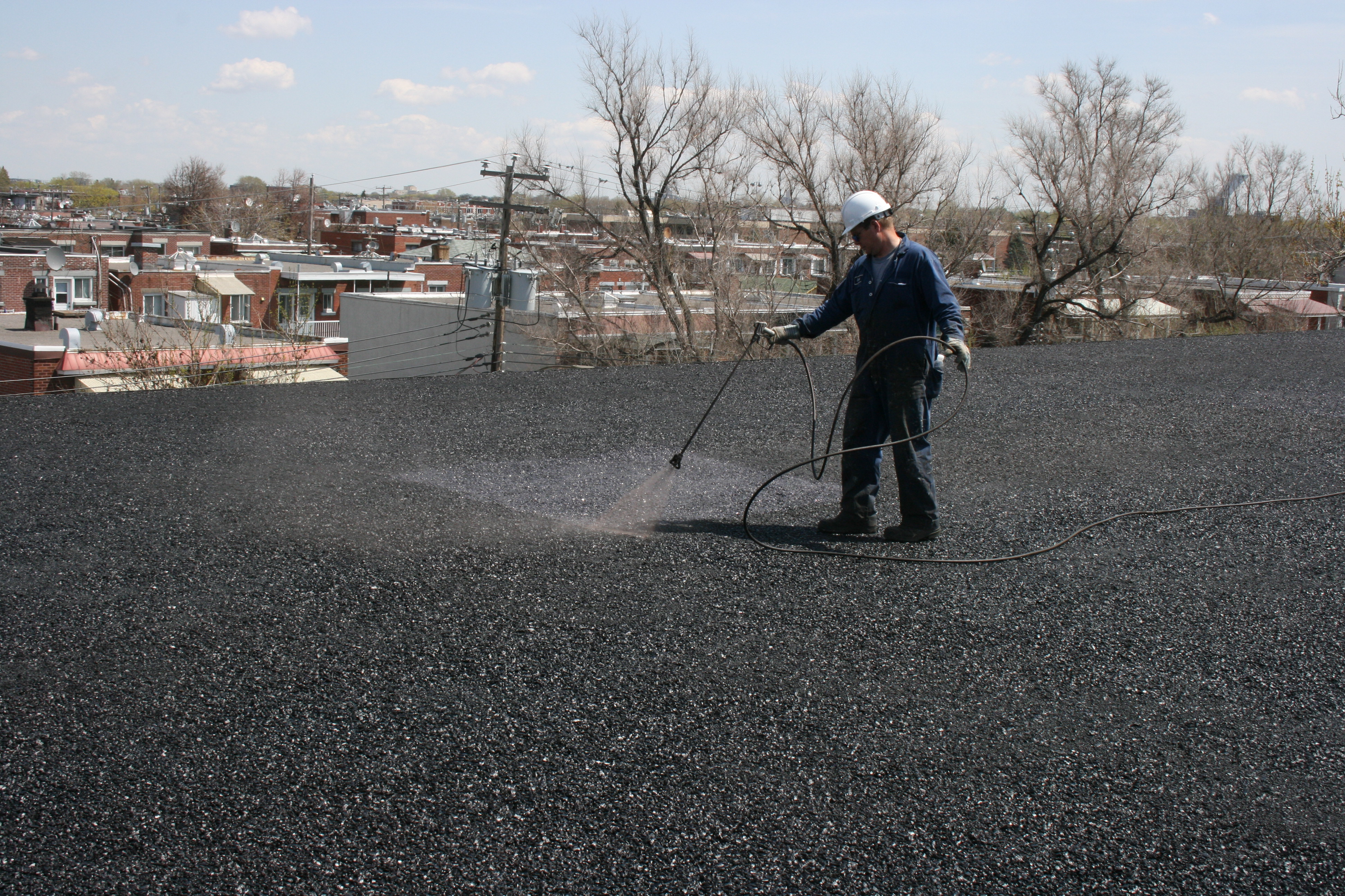 Commercial Flat Roofing Solutions - Montreal March 2009 171