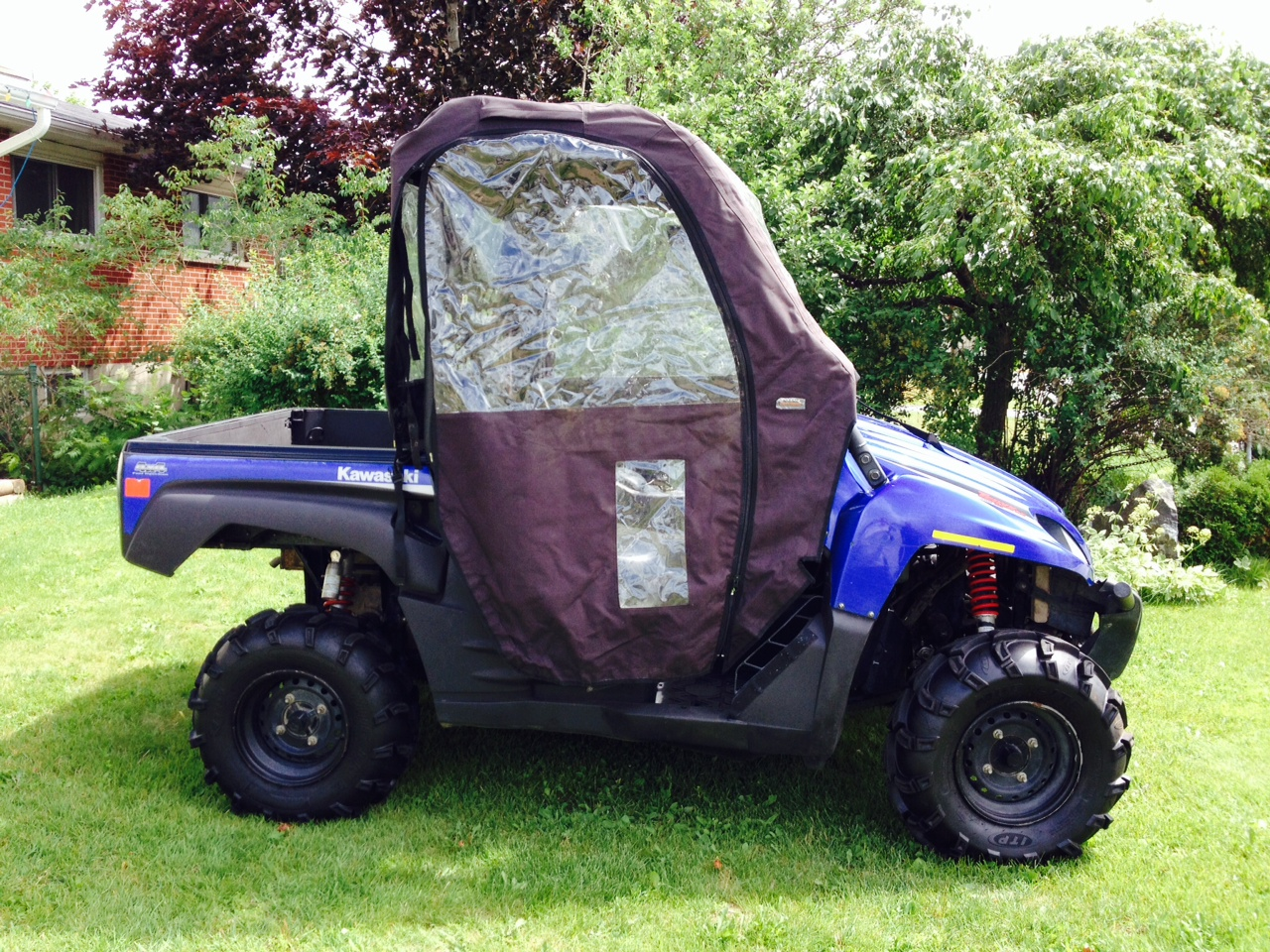 Kawasaki Teryx LE 750 Side By Side 4X4 - Quad Pictures 2014