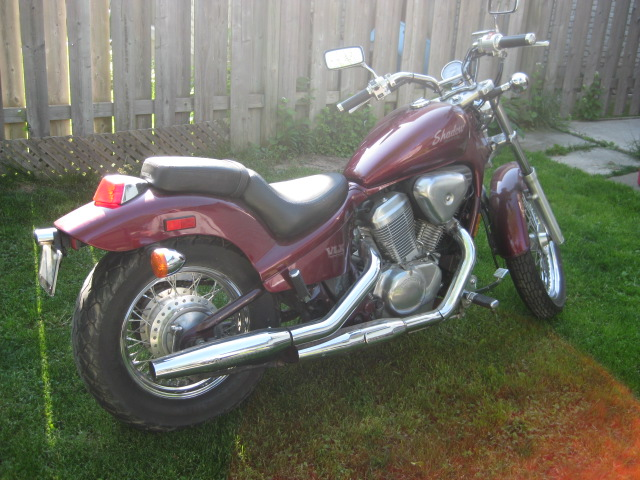 Honda Shadow 600 1988 - Heather 003