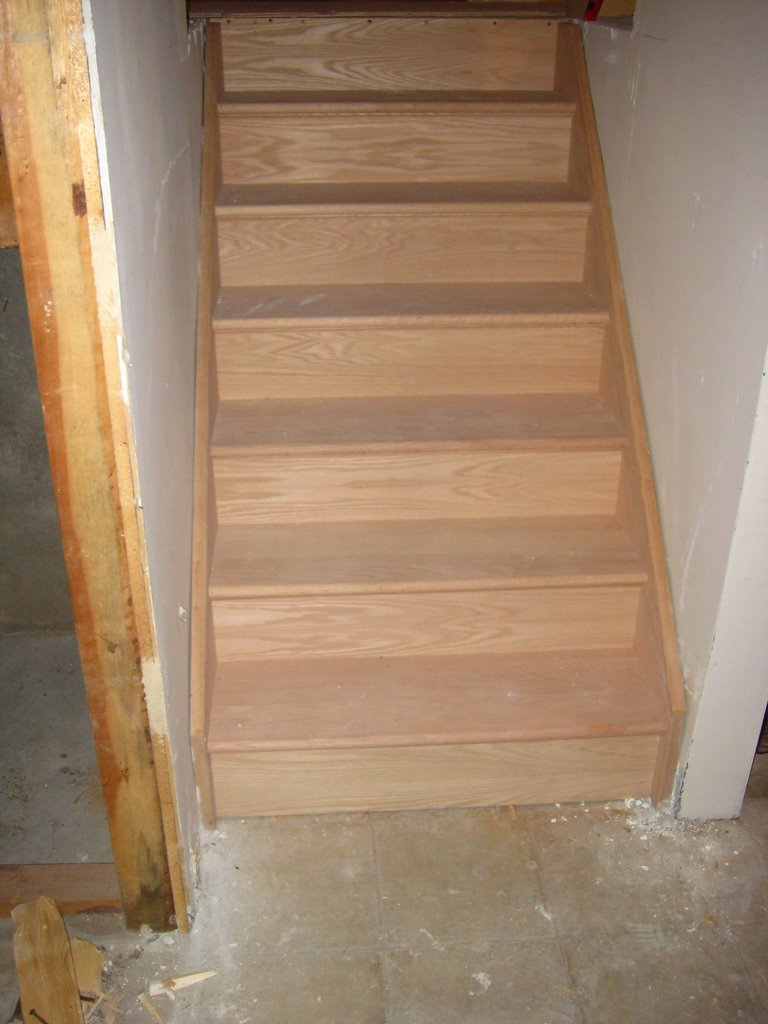 Wood Working Services, Custom Designed Stairs And Installation, Staircase Capping & Restoration - Img 6825