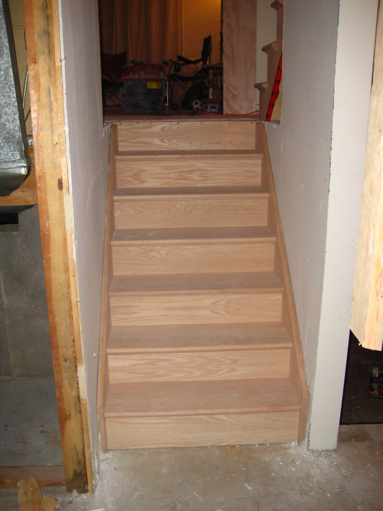 Wood Working Services, Custom Designed Stairs And Installation, Staircase Capping & Restoration - Img 6826