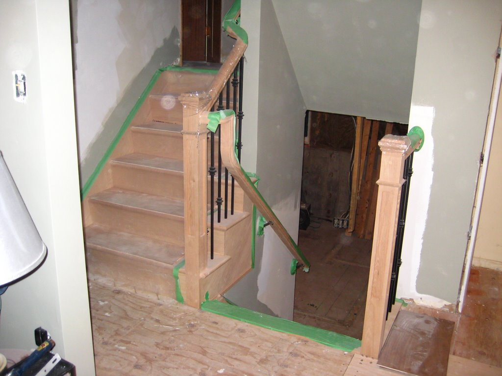 Wood Working Services, Custom Designed Stairs And Installation, Staircase Capping & Restoration - Img 6833