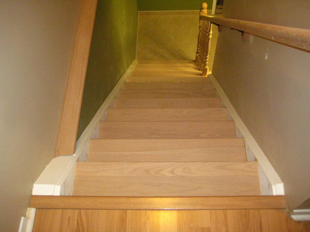 Wood Working Services, Custom Designed Stairs And Installation, Staircase Capping & Restoration - Img 7252