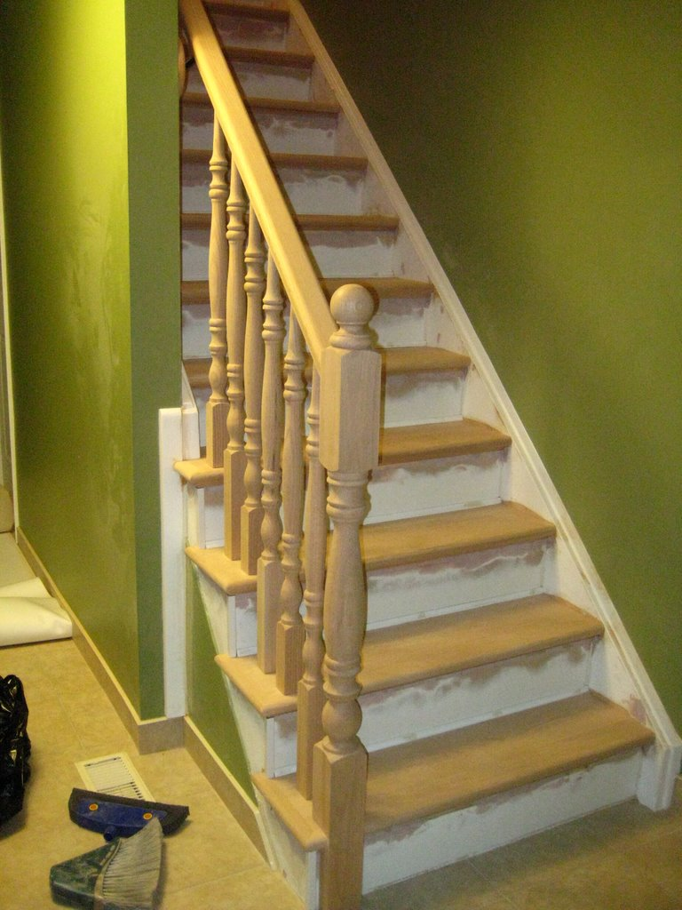 Wood Working Services, Custom Designed Stairs And Installation, Staircase Capping & Restoration - Img 7256